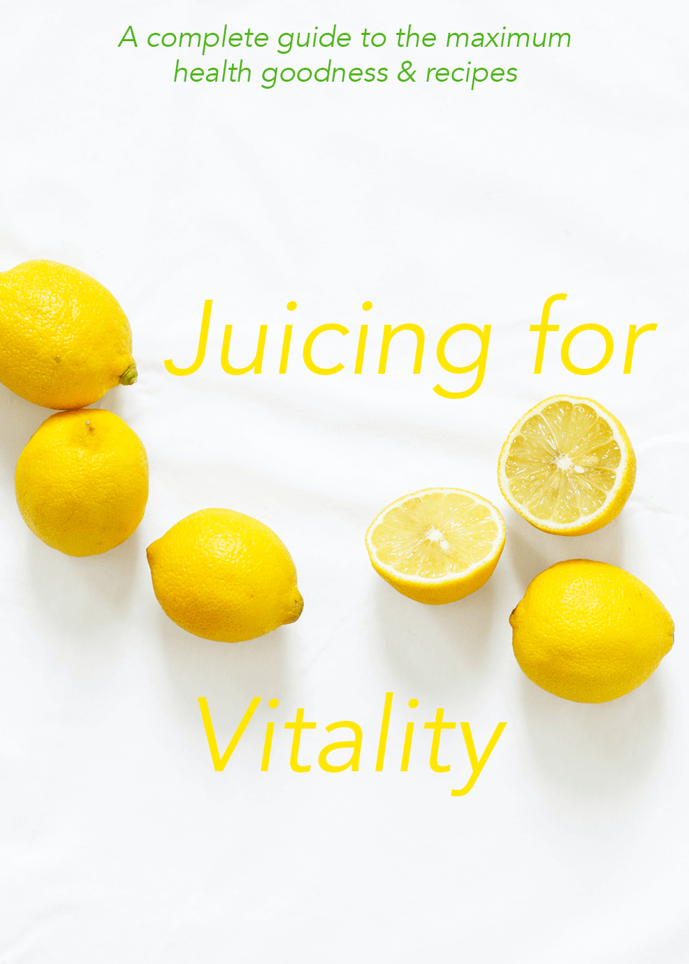 Juicing For Vitality Video Upgrade