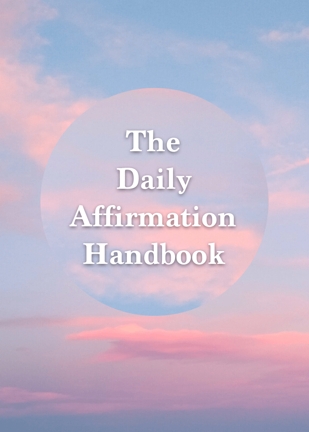 The Daily Affirmation Handbook Video Upgrade
